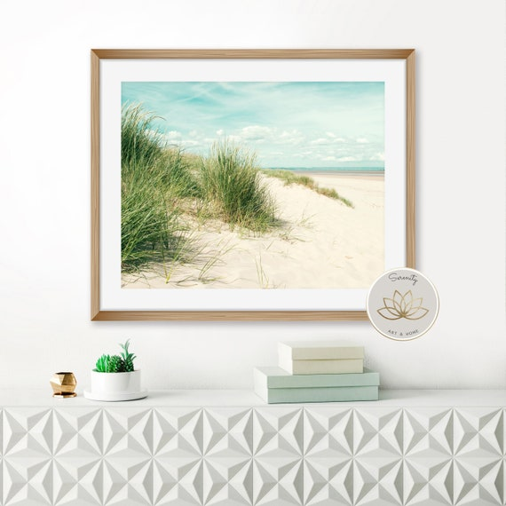 Wild Grass Print Beach Print Bathroom Wall Art Beach | Etsy
