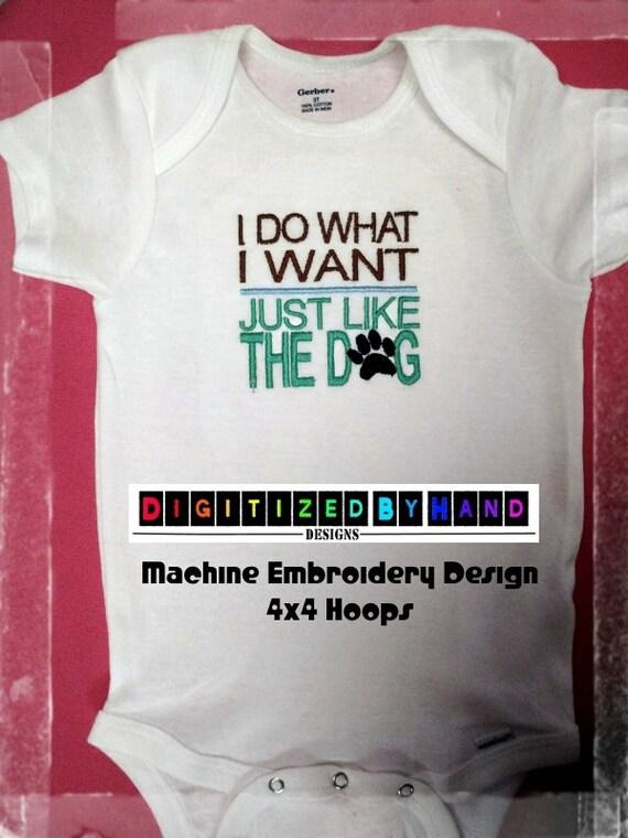 Machine Embroidery Design Onesie Machine Emboridery Design Etsy