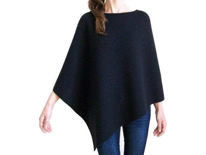 100% Merino Wool Poncho / Women Ponchos / Wool Shawl Wrap