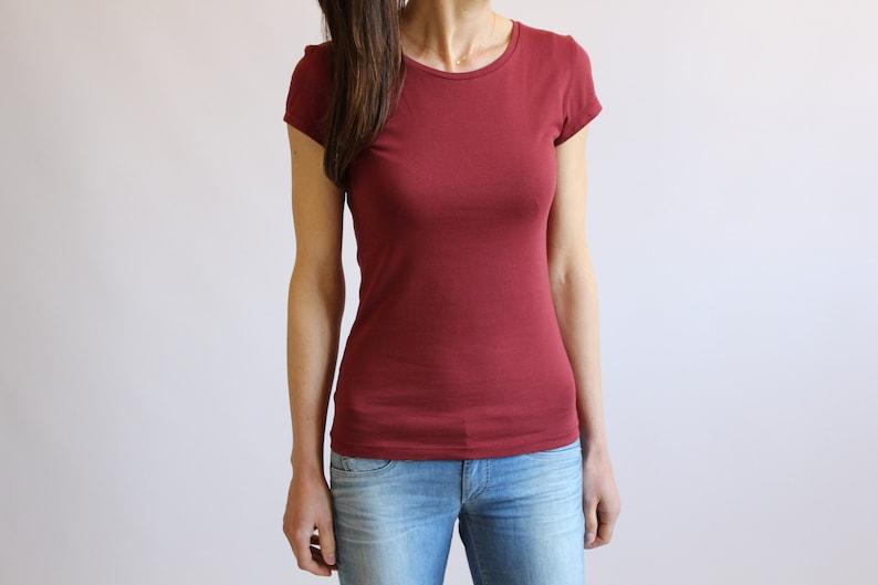 3d5bbc7286b WOMEN TSHIRT   High Quality Cotton Jersey T-shirt   Ladies