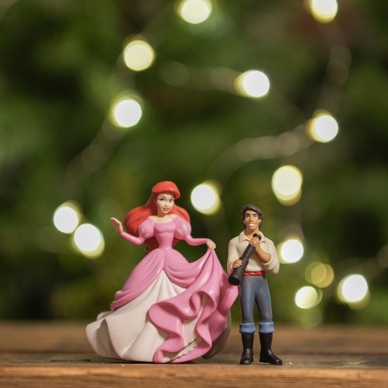 Black Friday Sale Ariel Princess & Prince Eric Ornament set