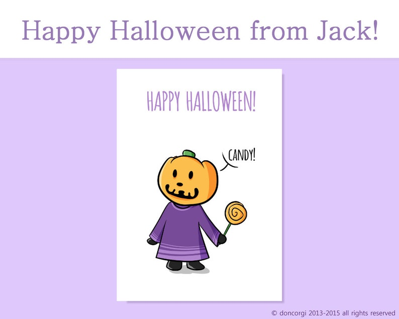 photo about Happy Halloween Cards Printable named Joyful Halloween Card Jack Pumpkin Thoughts Printable Playing cards Greeting Playing cards  Halloween Playing cards Animal Crossing Card - Instantaneous Obtain