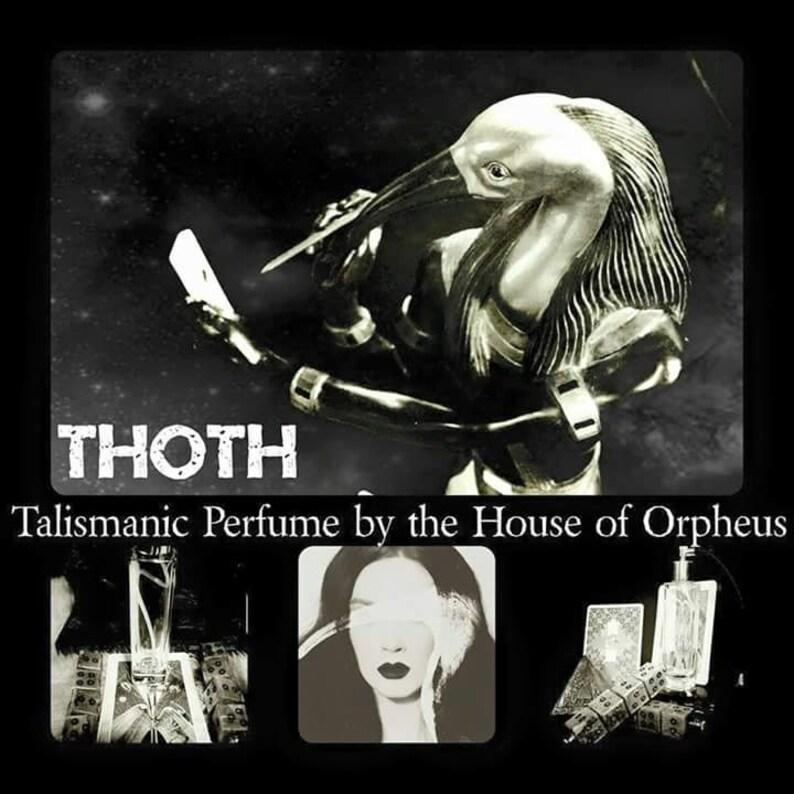 Thoth a high alchemical perfume image 0