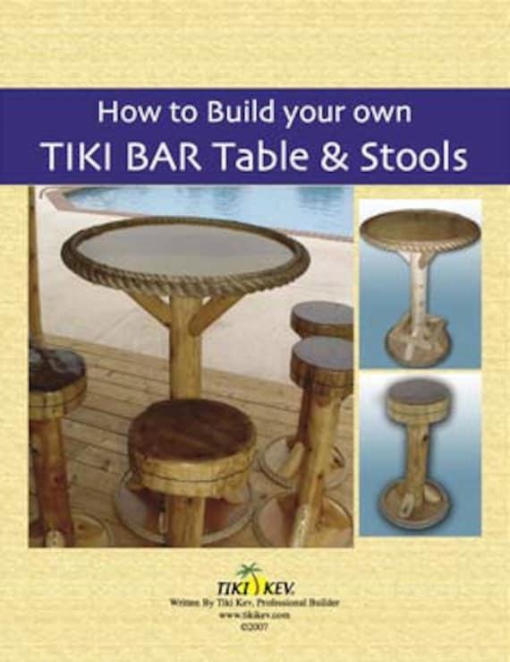 Awesome Download How To Build Your Own Tiki Bar Tables Stools Book Written By Tiki Kev Spiritservingveterans Wood Chair Design Ideas Spiritservingveteransorg