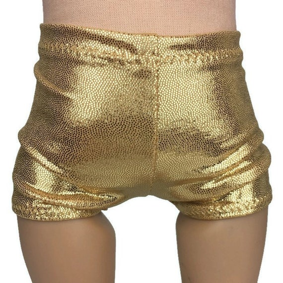 "Shiny Blue Dance//Cheer Shorts 18 Inch Doll Clothes Fits 18/"" American Girl Dolls"