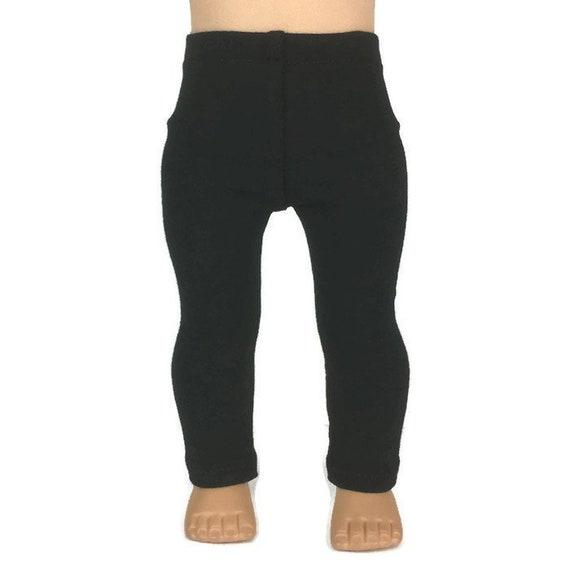 "18/"" Doll Clothes Black Leggings fits 18/"" Doll Clothes Leggings Black"