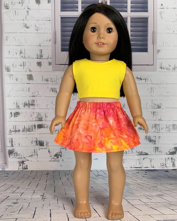 18 Inch Doll Dress Fuchsia Mandarin Dress Perfect for 18 Inch American Girl