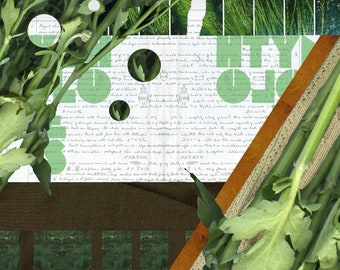 Digital Collage Print