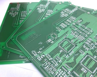 ONE XL Extra Large Reclaimed Recycled Circuit Board Bare for DIY projects, Wholesale Bulk Computer Parts for Upcycling Craft Supplies