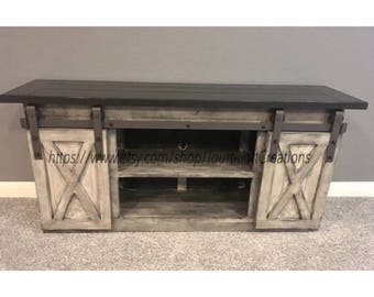 High Quality TV Console/TV Stand/Entertainment Center/Barn Door/Custom/media Stand/media  Hutch/cabinent/sliding Doors/side Board/buffet/entry Table/hutch