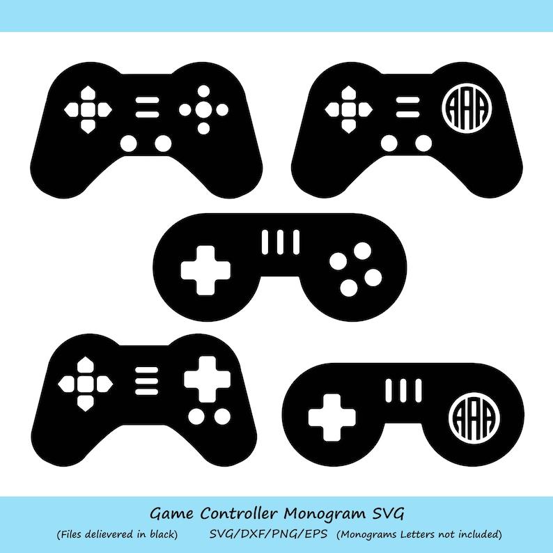 Game Controller Svg Game Controller Monogram Svg Game Svg Video Gamer Svg Video Game Svg Gaming Svg Gamer Svg Dxf Commercial Use