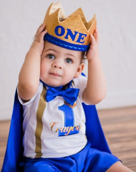 Personalized Baby Boy Clothing Set Boys First Birthday Outfit Birthday Gift Boy First Birthday Photography Prop Boys 1st Birthday Outfit