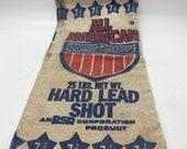 Vintage Lead Shot canvas bag from All American