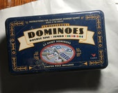 Domino Collection, 55 dominoes, starter piece included, jumbo color dot, unopened box