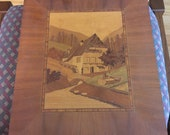 vintage marquetry German made