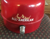 All American, Bathing Beauties, Jug, Retro, Thermos, Red, Cold, Hot, Beverages, Cottage Chic, Camping, Mid Century