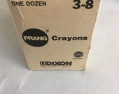 Crayons New old Stock Dixon 12 pack of 8 Crayons in original packaging