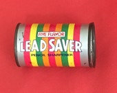 Vintage Pencil Sharpener - Lead Saver a Life Saver spoof