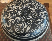 IronStone vintage lidded pot