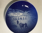SALE -> 1972 B&G Bing and Grondahl Christmas in Greenland (how odd?)