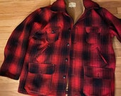 Jacket, Plaid jacket, Vintage Clearfield Field and Stream, Workmans Mfg Co Jacket, size 46