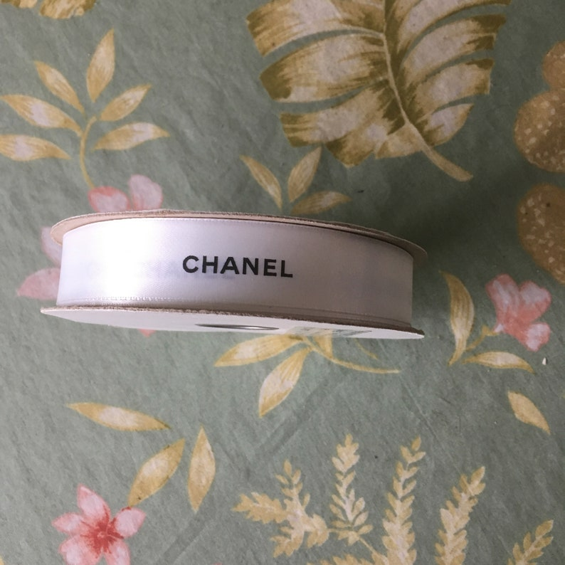 90837adabf29c9 Chanel vintage ribbon from boutique 50 yards