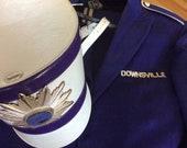 uniform, band camp, vintage Creepy Drum Majorette Downsville NY