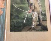 Scrap Book, Massachusetts scrap book, Dowd family history, vintage scrapping