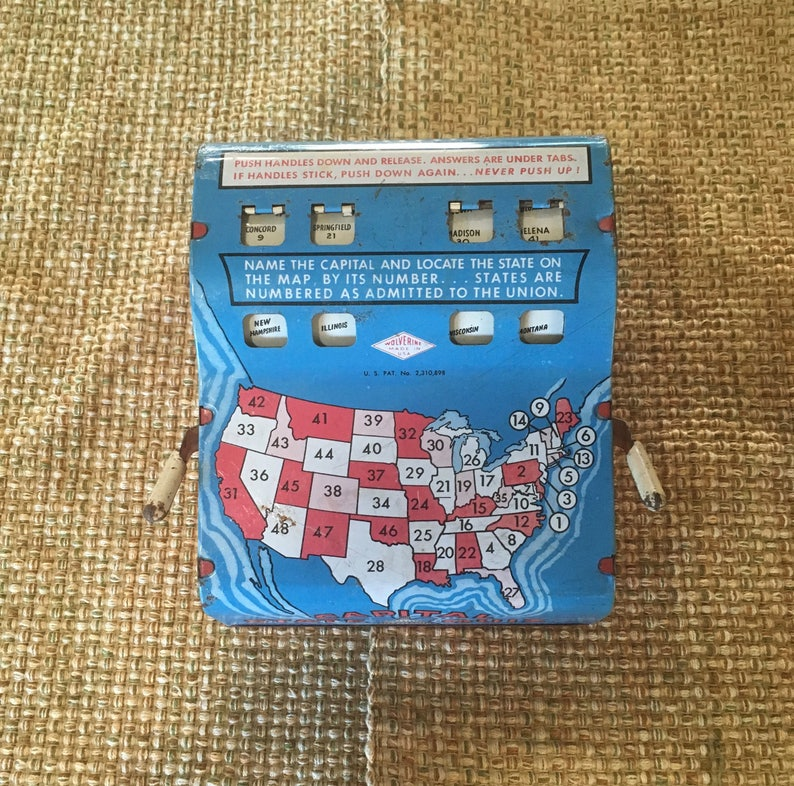 Vintage Capital State Quiz - Early version only 48 states