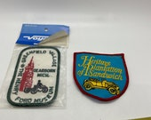 Patches, Car Collector museum Patches from seventies, vintage stock