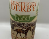 Kentucky Derby Glasses, Vintage Derby glasses - 1983, 1983, 1985 and 1990