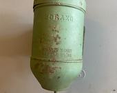 Soap Dispenser, Boraxo Vintage powered soap dispenser, Prison bathroom