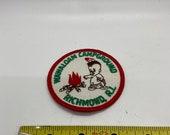 Patch, Vintage Rhode Island Cap patch, seventies cloth patch
