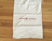 bag, canvas bag, money bag, Bank Issued Money Bags, vintage cash bags