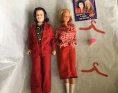 Dolls, Rosie and friend, Goofy Rosie doll, Trumps arch-nemesis Rosie O'donnel