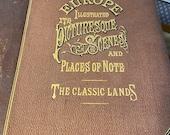 Europe, Travel Book, Europe Illustrated Volume 1, John Sherer engravings