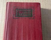 Birthday Book, Friendship Birthday Book, Depression Era, Family and friend inventory, Connecticut