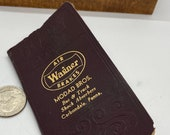 Vintage diary fro 1952. Air Brakes for Wagner by Modad Brothers in PA