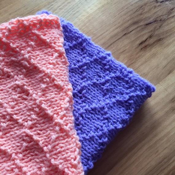 Knit Baby Doll Blanket Gift For Girls Doll Blanket Baby Etsy