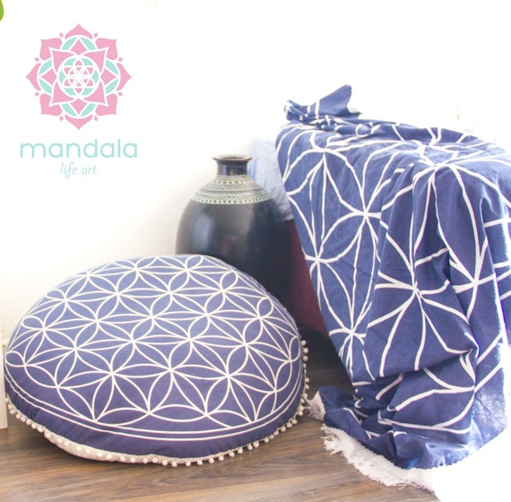 Items Similar To Pouf Ottoman Floor Cushion Seating