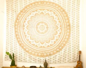 Tapestry Wall Hanging, Mandala Wall Tapestry, Bohemian Chic Wall Decor, Boho Tapestry Decor for Bedroom