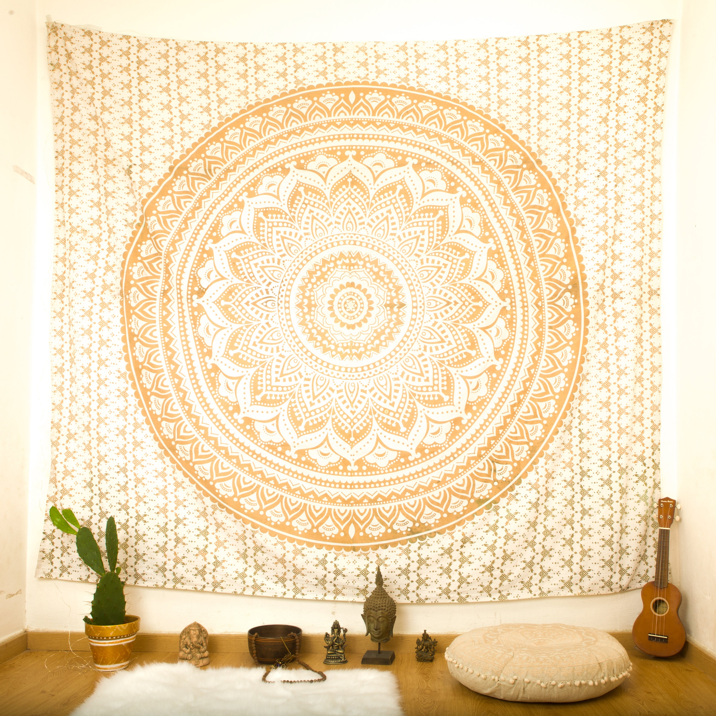 Tapestry Wall Hanging Mandala Wall Tapestry Bohemian Chic | Etsy