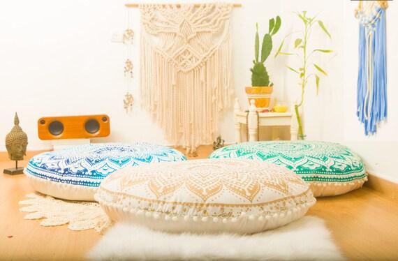 Meditation Cushion Poufs Floor Cushion Seating Floor Pillow