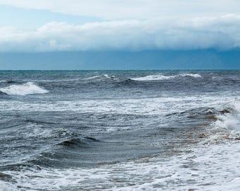 Pacific Ocean Waves I, photos, photography, artwork, water, Pacific ocean, 3Butterflies