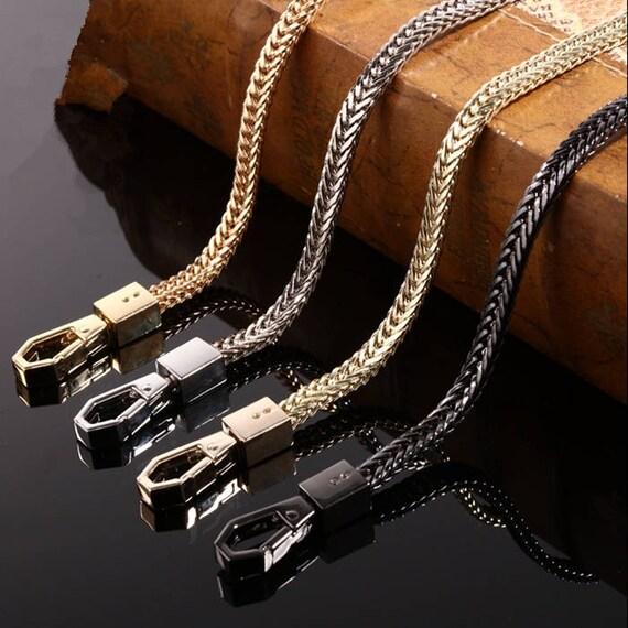 20cm Handtasche Metall Kette Damen Umhängetasche Band Ersatz Hanbag Chain Strap