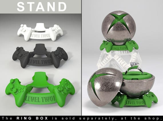 STAND for X Ring BOX proposal ring box