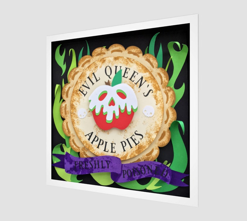 Evil Queen Apple Pies Fine Art Print Snow White Poisoned image 0
