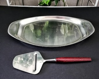 Stainless Bread Tray Etsy