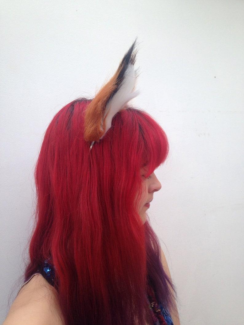 Fantastic Fox Headband Furry Animal Hairband Realistic Fox Ears