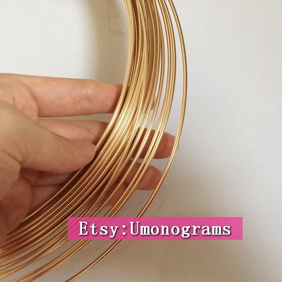 14K Gold Filled Draht 12 Gauge. 081 206 mm weich / halb | Etsy
